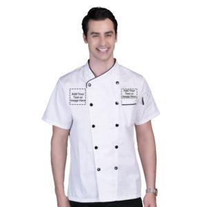 Chef Jacket Personalized Customized Logo-1