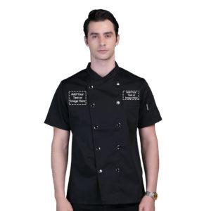 Chef Jacket Personalized Customized Logo-2