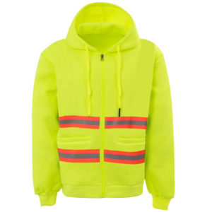 Reflective Workwear Hoodie-2