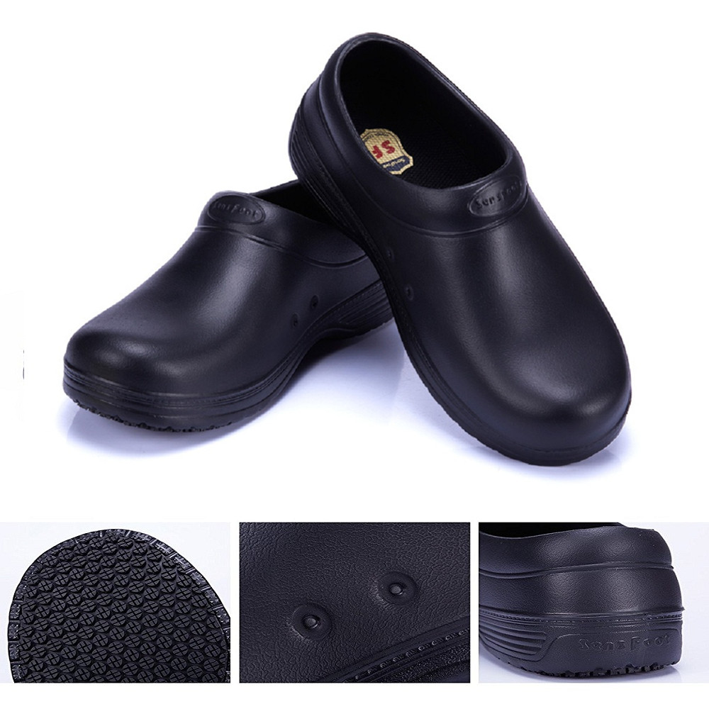 Comfortable Chef Shoes Suadex Steel Toe Shoes Water Resistant