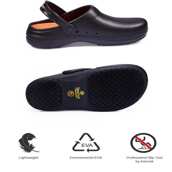 Slip Resistant Clogs-4