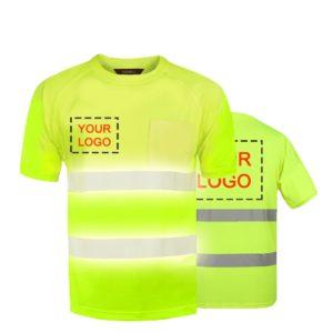 construction polo short sleeve shirt-1
