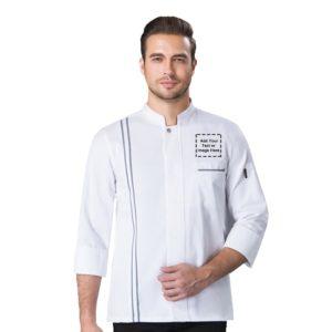 cuffed chef jacket-1