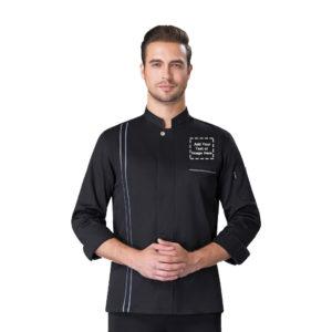 cuffed chef jacket-2
