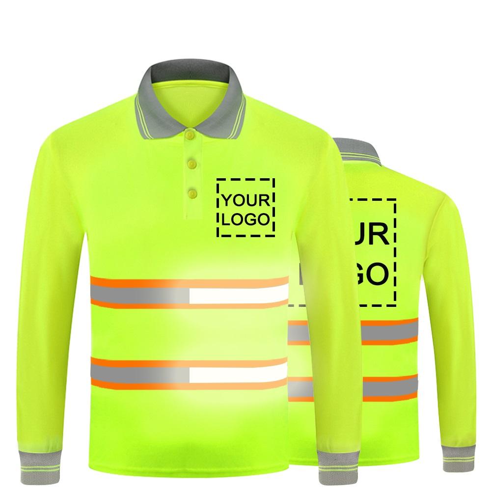 reflective long sleeve shirt