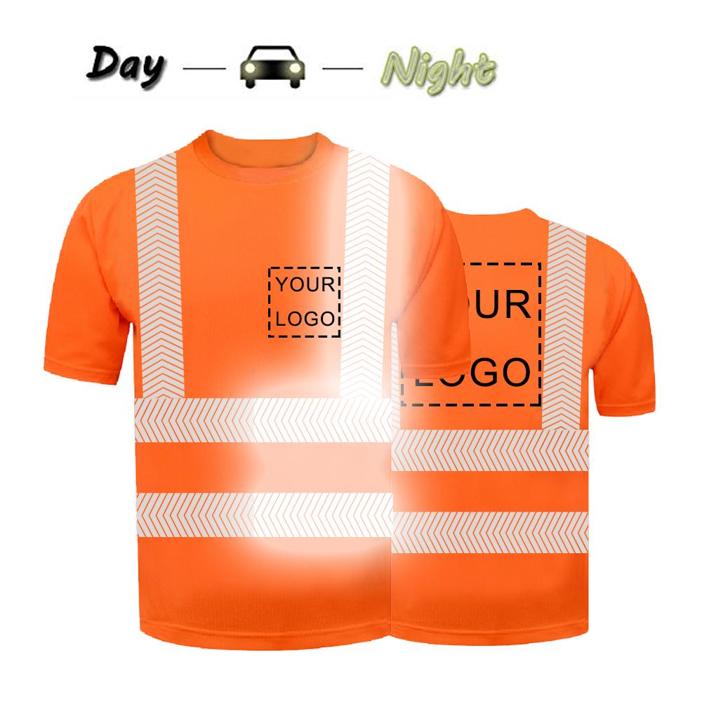 high visibility reflective safety shirt