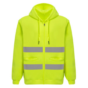 safety green hoodies-1