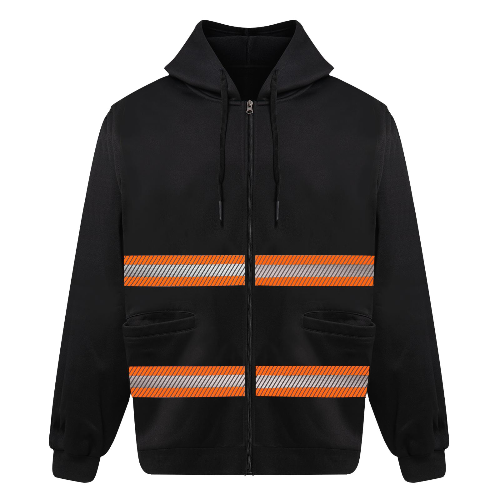 safety orange hoodies-1