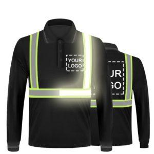safety polo shirt-1